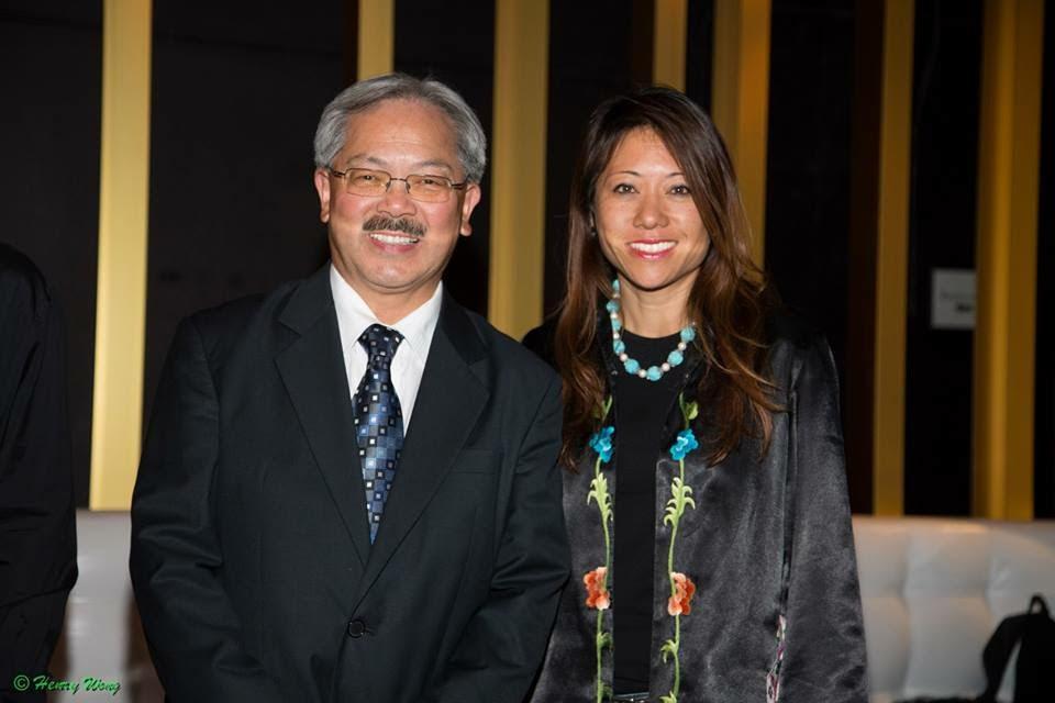 Fiona and Mayor Ed Lee